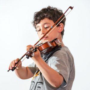 Geige lernen. Musike Berlin
