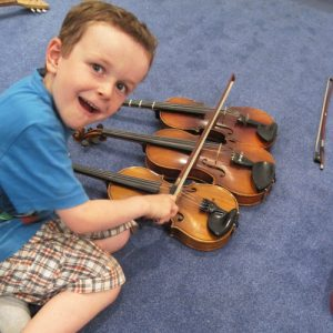 Geigenunterricht Kinder - Musike Berlin
